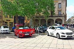 Die Stuttgarter Autohäuser präsentieren die neuesten Modelle. Foto: z
