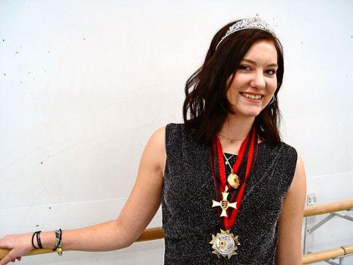 Jessica Oertel ist neue Faschingsprinzessin des Frohen Faschingsclubs Gerlingen. Foto: Melanie Axter