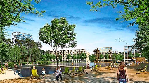 Schöne An- und Aussichten für die Bürger. Foto: Steidle Architekten