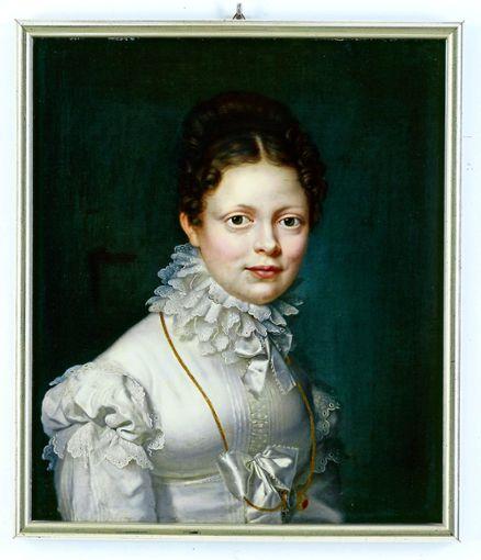 In Stuttgart unvergessen: Ein Gemälde von Königin Katharina.  Foto: z