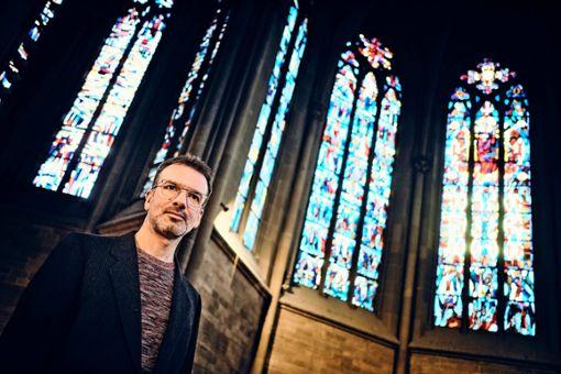 Pastoralreferent Sebastian Schmid bietet besondere Impulse während der Fastenzeit in St. Maria an, mit Zeit zum Warten.  Foto:   z, Heinz Heiss
