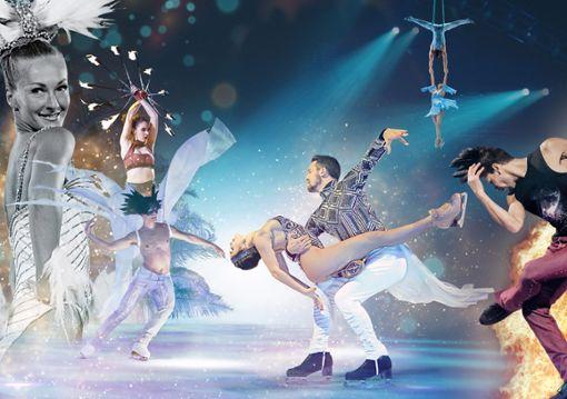 """""""Holiday on Ice"""" gastiert dieses Jahr vom 23. bis zum 25. Januar in Stuttgart. Foto: z"""