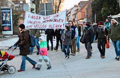 Anwohner fürchten um ihre Wohnungen. Foto: Pehar