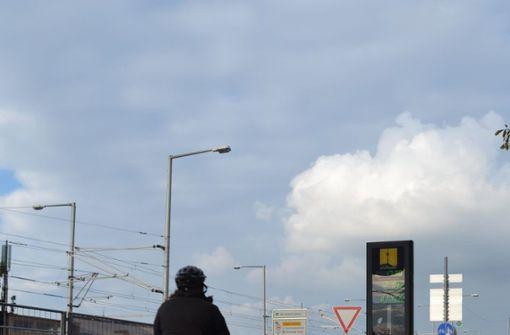 So viele Radler wie nie zuvor seit Bestehen der Zählstelle sind am Leuze vorbeigerollt. Foto: Thomas Miedaner