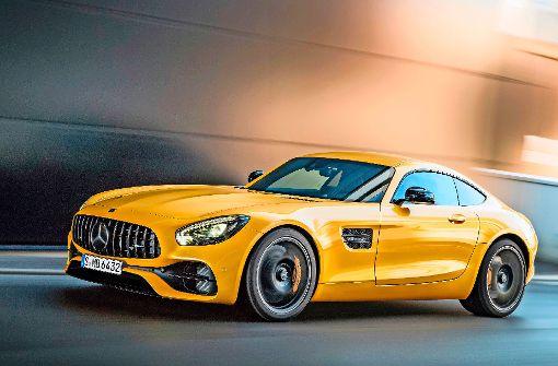Der neue Mercedes-AMG GT Foto: dpa/Daimler AG