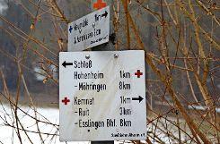 Der Schwäbische Albverein Ortsgruppe Plieningen-Birkach hat alle seine Schilder und Markierungen neu gerichtet. Foto: max