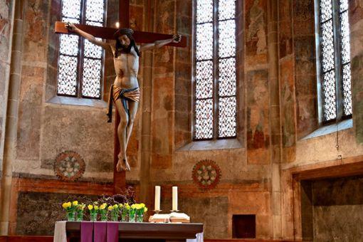 Auch wenn auf Präsenzgottesdienste von Gründonnerstag bis Ostermontag verzichtet werden soll, wird in Stuttgart und in der Region die Passion vor dem Auferstehungsfest begangen.   Foto: Eva Herschmann